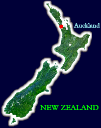 New Zealand, the home of EStarFuture Corporation Limited. The company is based on Waiheke Island (the tiny green dot to the right of the red dot that marks Auckland, NZ's biggest city).