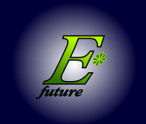 The logo and trademark of EStarFuture Corporation Limited, also trading as E*Future (TM). Copyright 2004 Nobilangelo Ceramalus and 2005 EStarFuture Corporation.