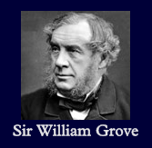 Sir William Grove, who invented the fuel-cell in 1839. Sir William Robert Grove (1811-1896).