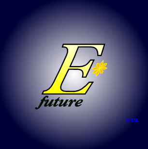 The logo and trademark of EStarFuture Corporation Limited (also trading as E*Future TM), in the livery for solar-ultracapacitor products. Copyright 2005 Nobilangelo Ceramalus and EStarFuture Corporation. Click for company details.
