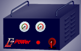 Simplified artist's impression of the cabinet for EStarPower (TM).